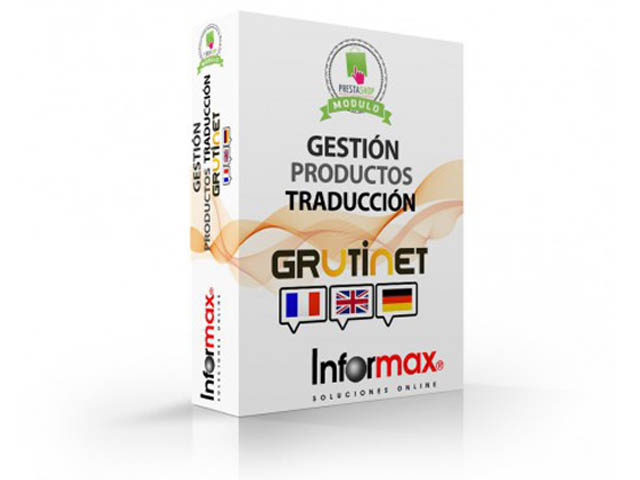 Modulo Grutinet para Traducir los productos
