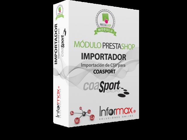 (Español) Modulo importador catálogo Coas