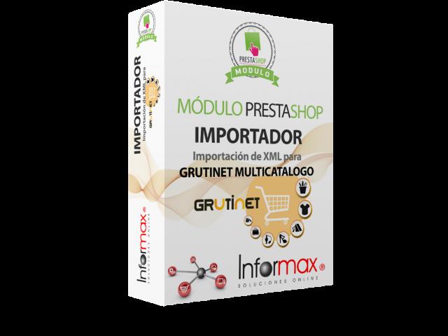 (Español) Manual de Uso, Importador multicatálogo de Grutinet para Prestashop