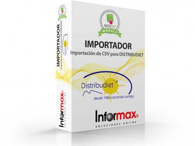 (Español) Modulo para importación y actualización de Distribudiet